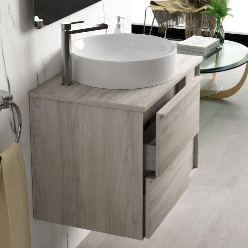 Mueble lavabo sobre encimers Oslo