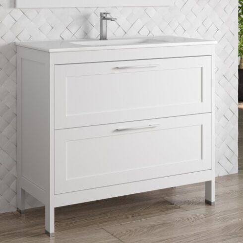 Mueble de baño toscana blanco