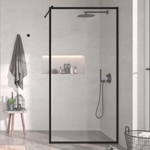 Mamparas de ducha negras