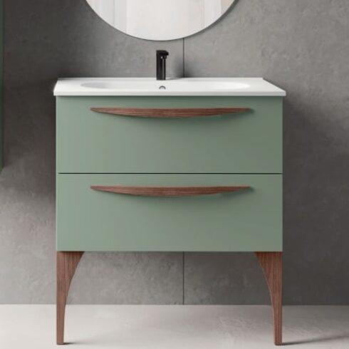 Muebles de baño con patas Arco