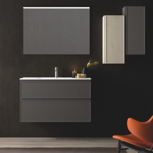 Mueble de baño Araceli antracita