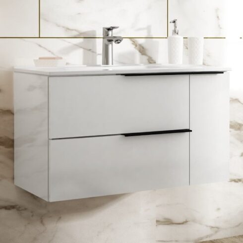 Mueble de Baño Blanco Ibiza