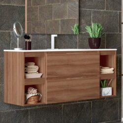 Mueble Lavabo Aqua Nogal