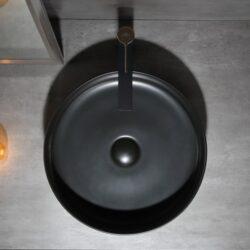 Lavabo Negro FINO CILIN