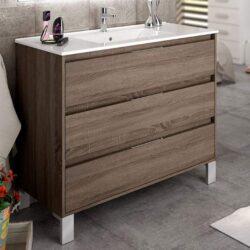Mueble de baño 3 cajones Corfu