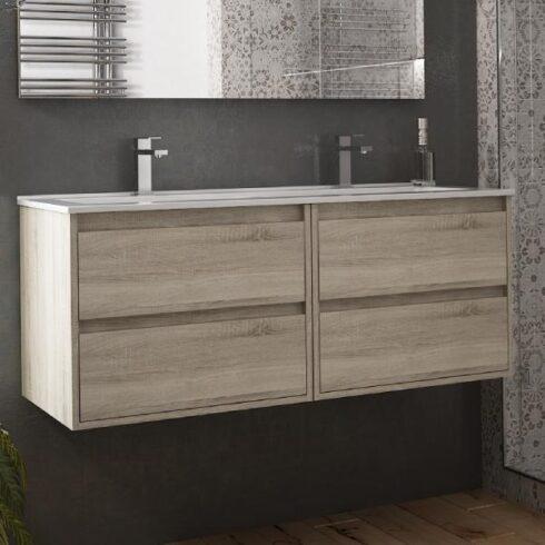 Muebles de baño dobles corfu