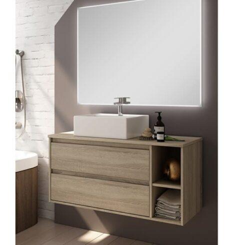 Muebles de baño Creta roble