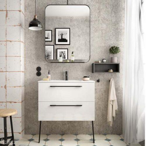 mueble de baño fondo 35 blanco