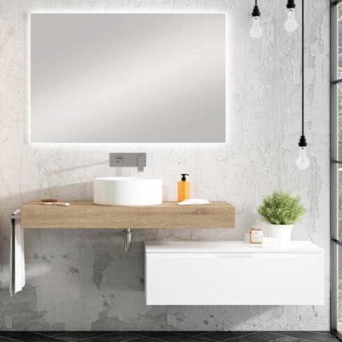 Mueble bajo lavabo Violeta BL