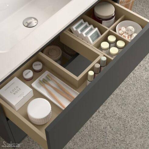Mueble de Baño Optimus Gris