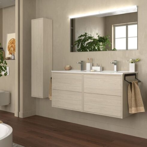 muebles de baño dobles optimus ro