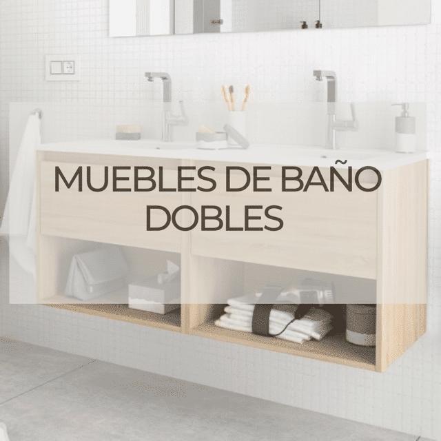 muebles de baño dobles