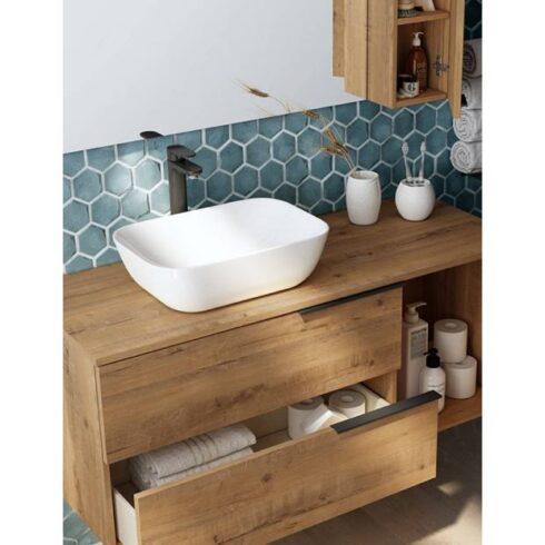 mueble lavabo black capri