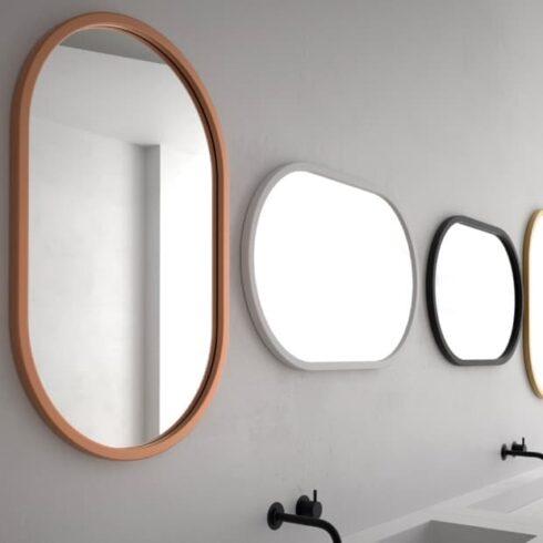 espejos de baño ovalados cerdena