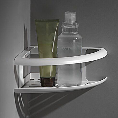 estantes de baño DHANU Blanco