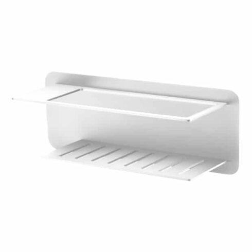 estantes de baño bethari blancos