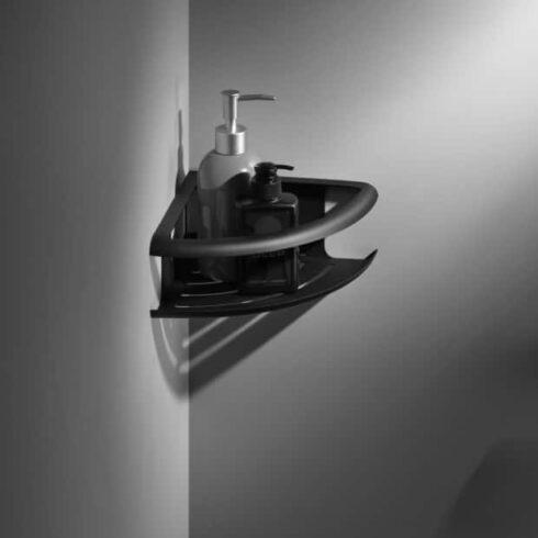 estantes de baño DHANU Negros