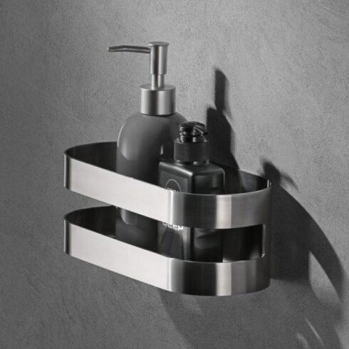 estantes de baño nirmala cromo