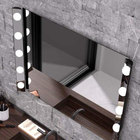 espejo de maquillaje hollywood